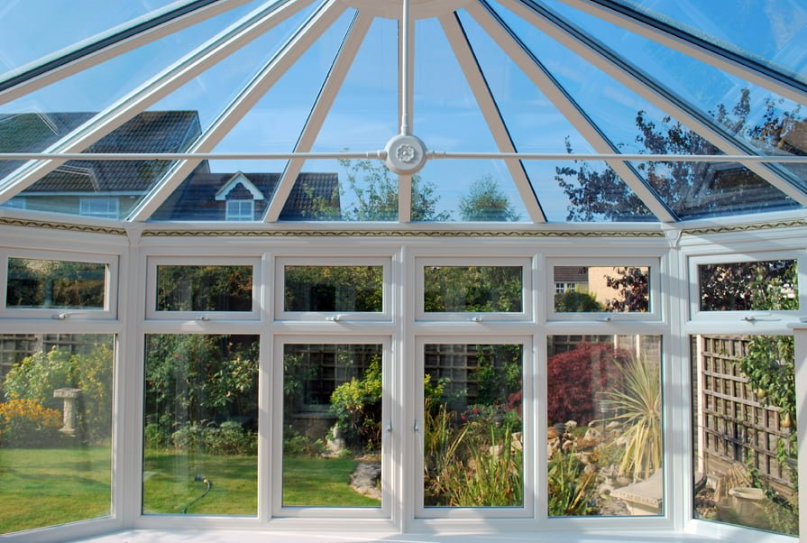 New conservatory roof MD King